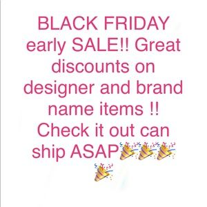 Early Black Friday sale!!🎉🎉🎉🎉